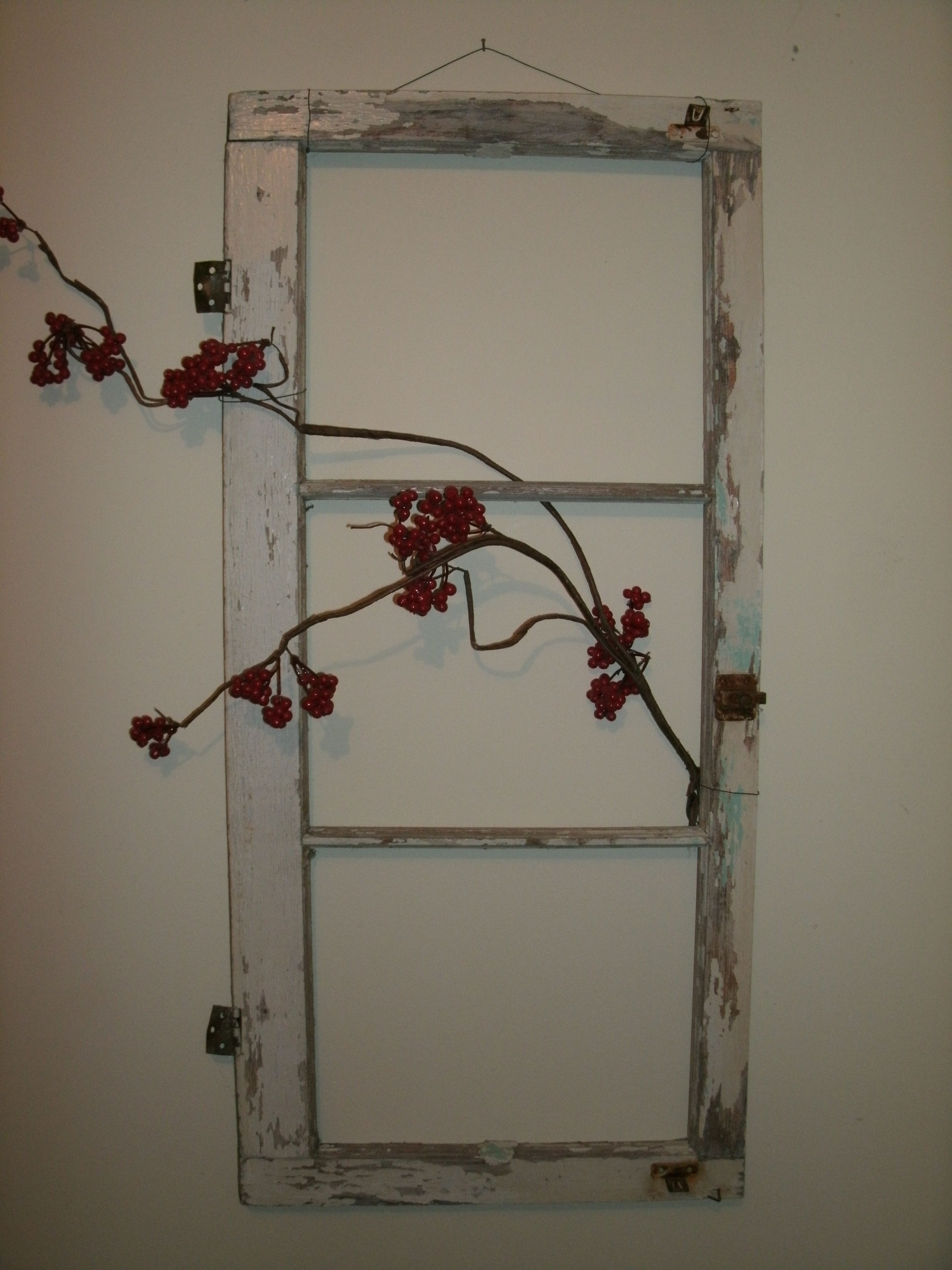 old window frame   Madera   Pinterest   Wohnen und deko, Fenster und ...
