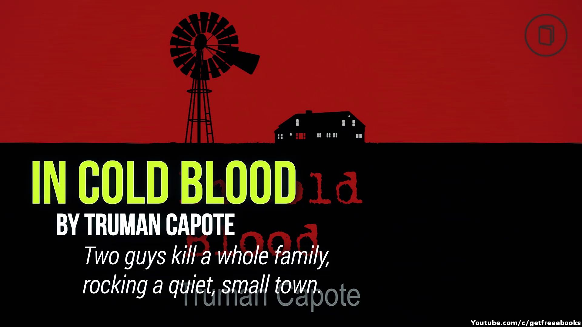 in cold blood book summary