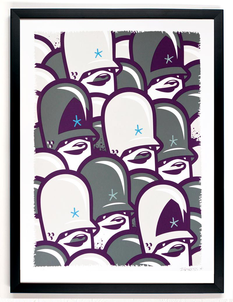Graffiti art for sale canada - Flying Fortress Heavy Formation Print On Sale Today