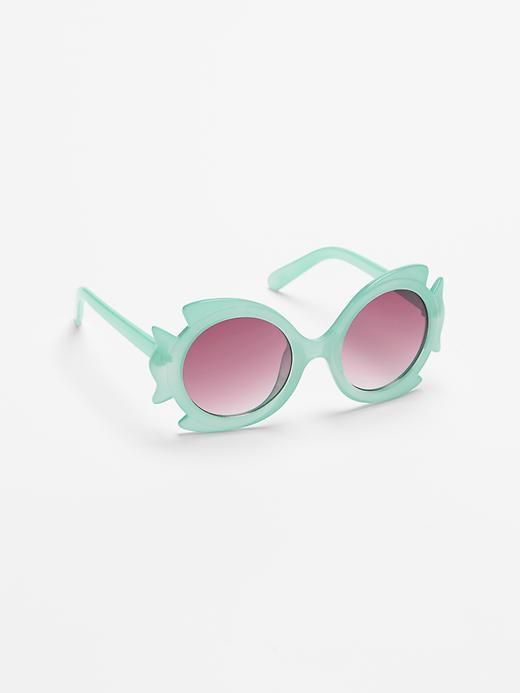 07f6ae8313ac Fish sunglasses Toddler Girl Style