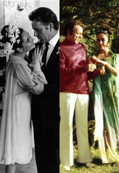 The Best Dressed Celebrity Brides Of All Time Elizabeth Taylor Elizabeth Taylor Cleopatra Celebrity Weddings