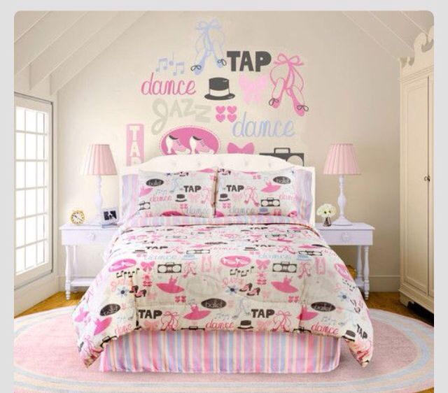 I So Want This Dance Themed Room Music Themed Bedroom Bedroom Themes Dance Bedroom