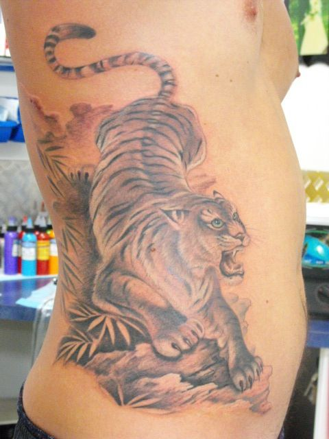 Tattooist: Daniel Brandt Electric Expressions Tattoo Studio Margate, QLD, Australia PH: (07) 38895966