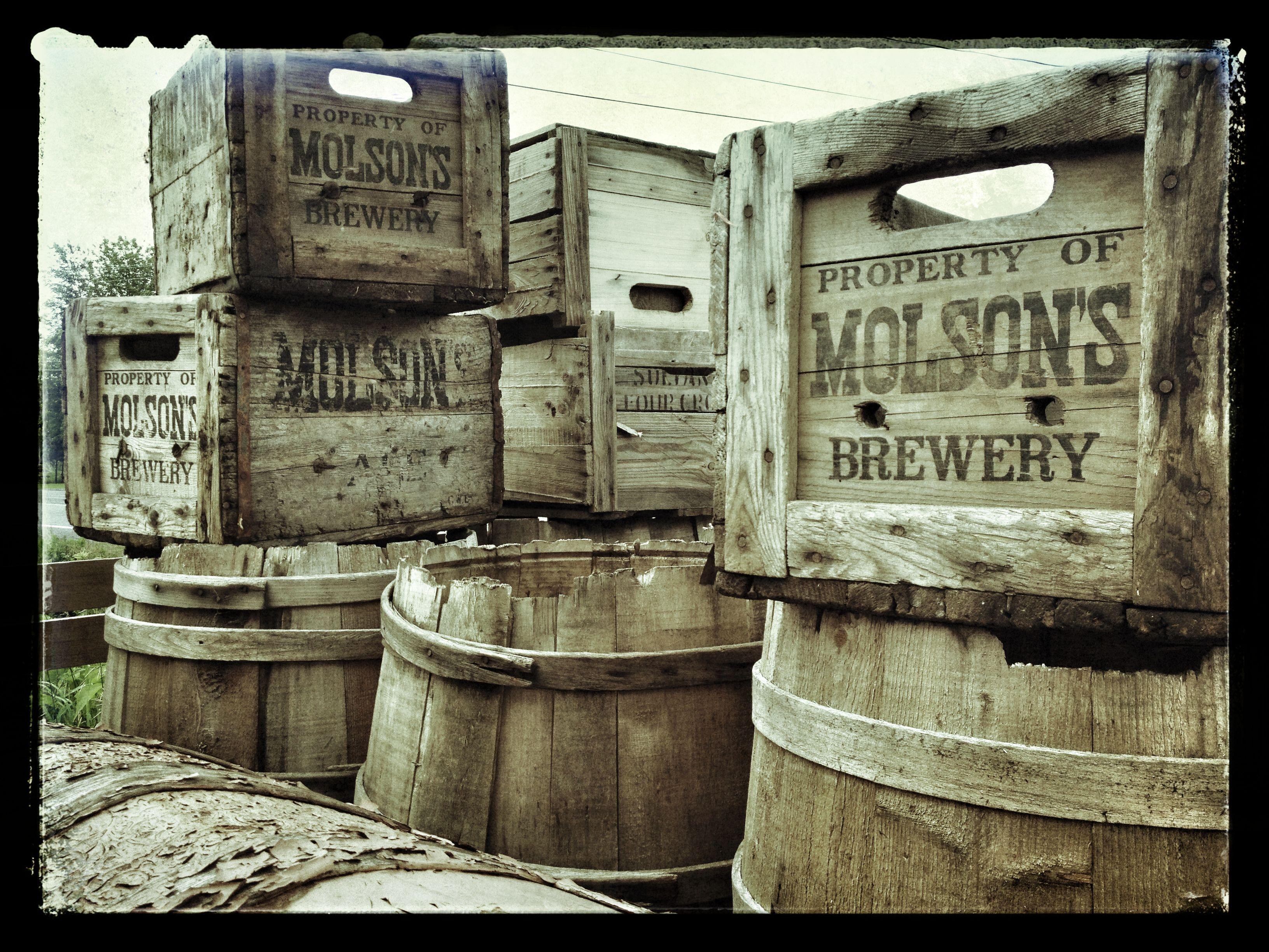 Vintage Crates.