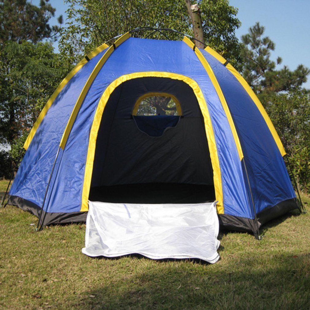 Waterproof 3 4 People Automatic Instant Pop Up Family Tent
