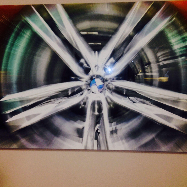 BMW lucite photo