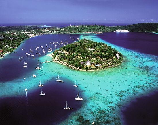 Blue Hole Isla De Espíritu Santo Vanuatu Travel Islas Vanuatu Viajes