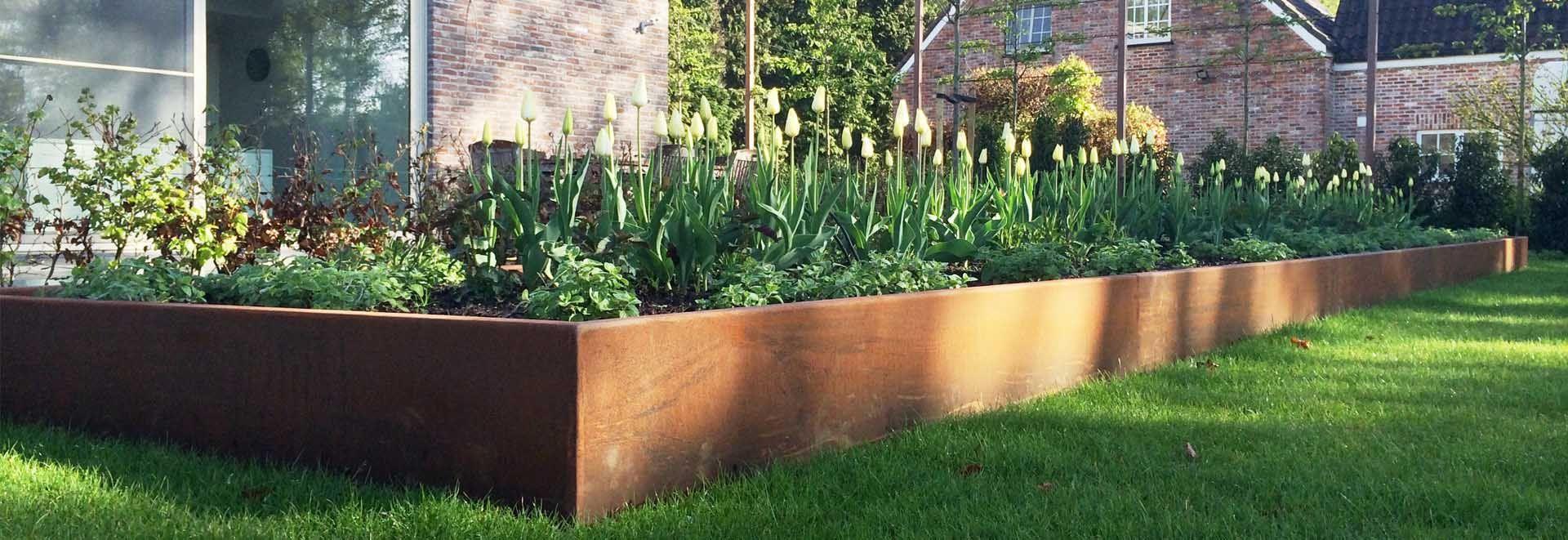 randeinfassungssysteme - corten stahl - greenmax | garten ideen, Garten und erstellen
