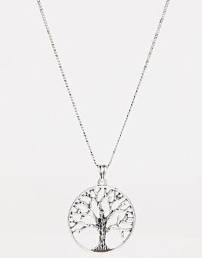 ASOS Tree of Life Long Pendant Necklace €14.29
