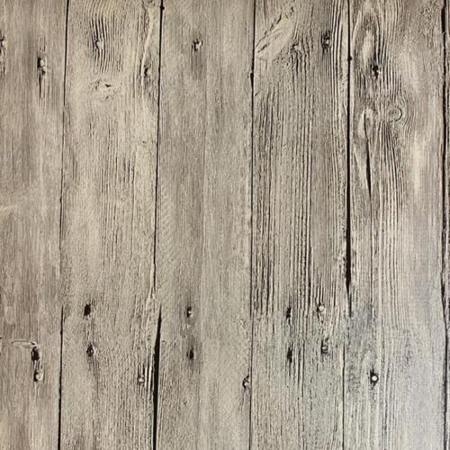 Grey White Thick Washed Faux Wood With Knots Wallpaper. The Planks On This  Faux Wood Are A Little Over Wide. The Knots Are Visible, Cracks Are  Evident, ...