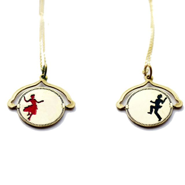 His and Her Necklace | His, hers necklaces, Couple ...