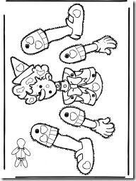 Jugar Y Colorear Dibujos Para Colorear Paper Puppets Paper Dolls Puppets
