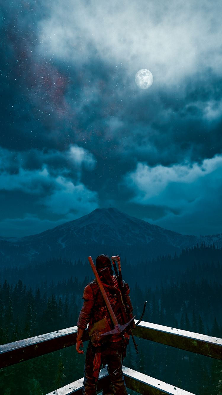 Download Days Gone Video Game 2020 Wallpaper For Screen 750x1334