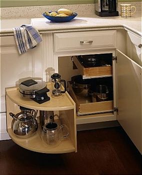 Diamond lowes organization cabinets base corner with Kitchen cabinet organization systems