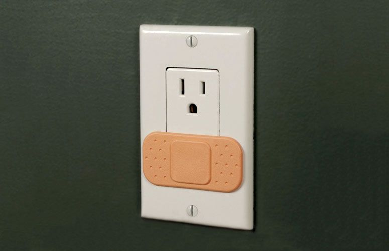 Ouchlet - Power Outlet Bandage Covers | Technology & Gadgets ...