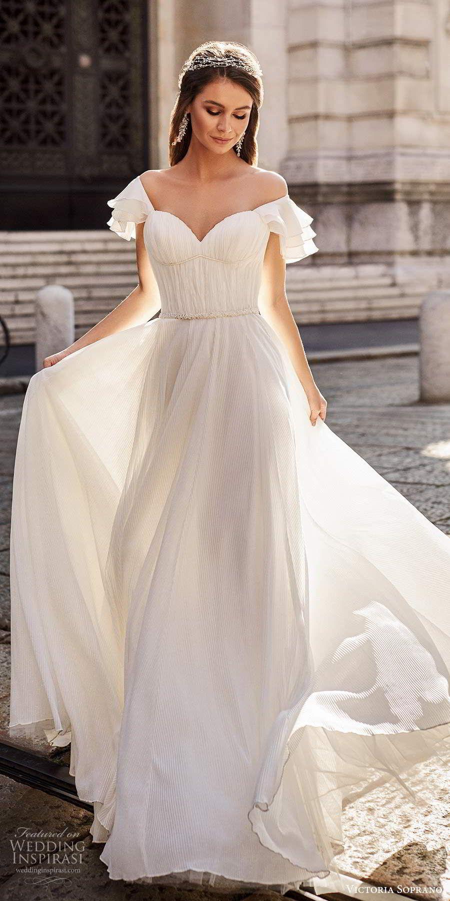 "Photo of Victoria Soprano 2020 ""Star of Milan"" Wedding Dresses | Wedding Inspirasi"