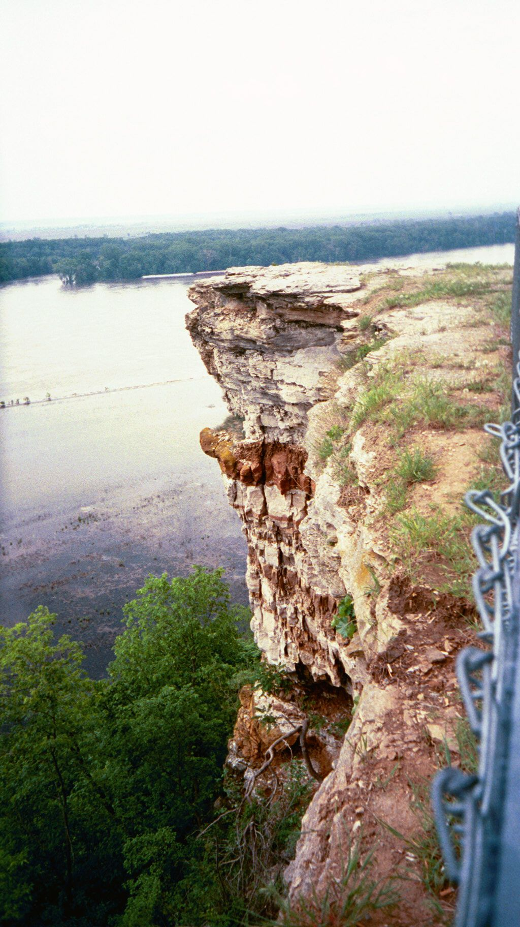 Lover's Leap   Hannibal, Missouri.  I've been there but I didn't leap.