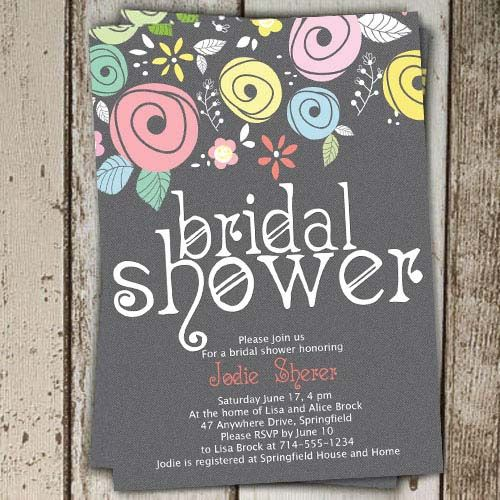 affordable country floral bridal shower invitationsuse coupon code cvb to get 10 off towards all the invitations elegantweddinginvites
