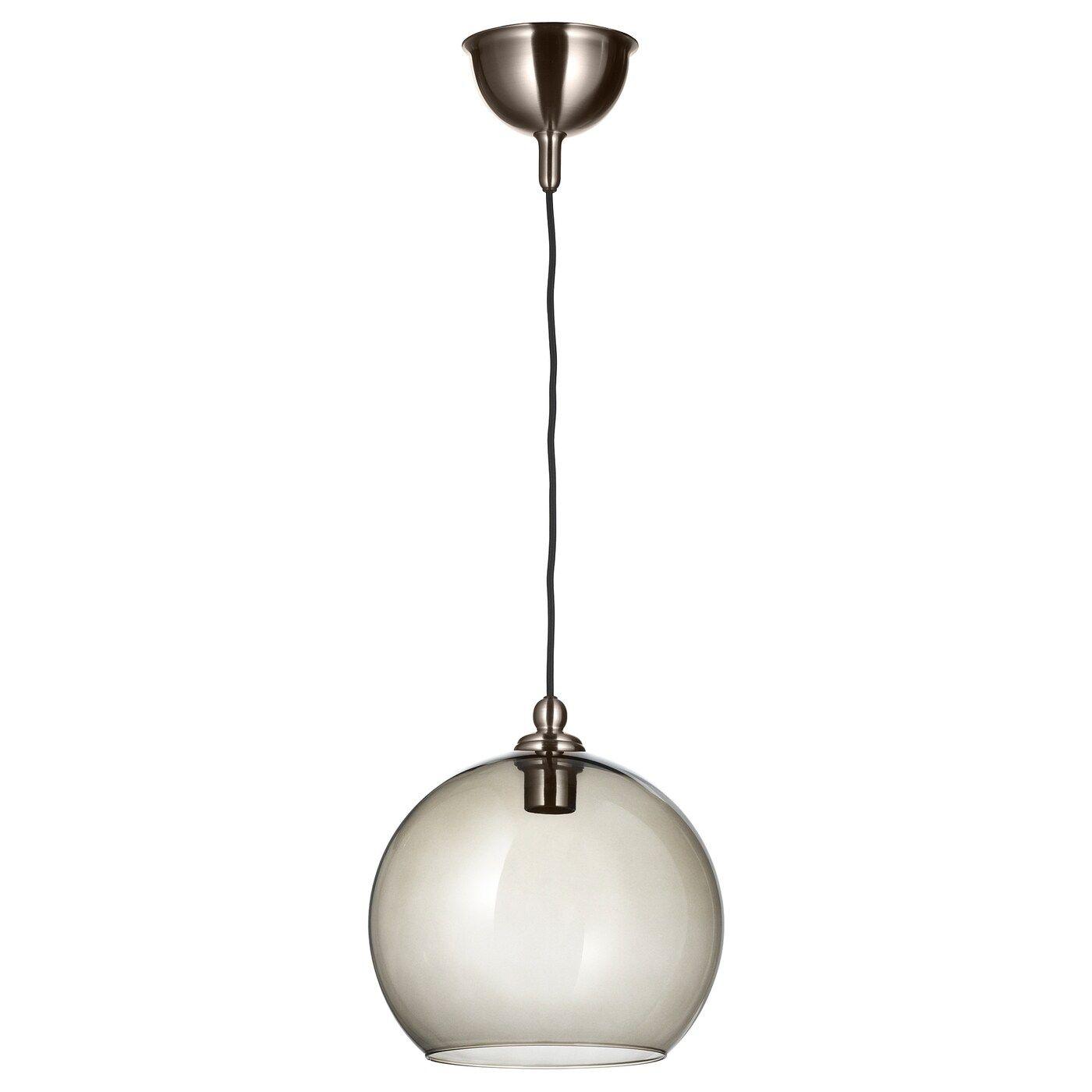 Gothem Jakobsbyn Pendant Lamp Dark Gray Smoked 12 In 2020 Pendant Lamp Pendant Lamp Shade Lamp