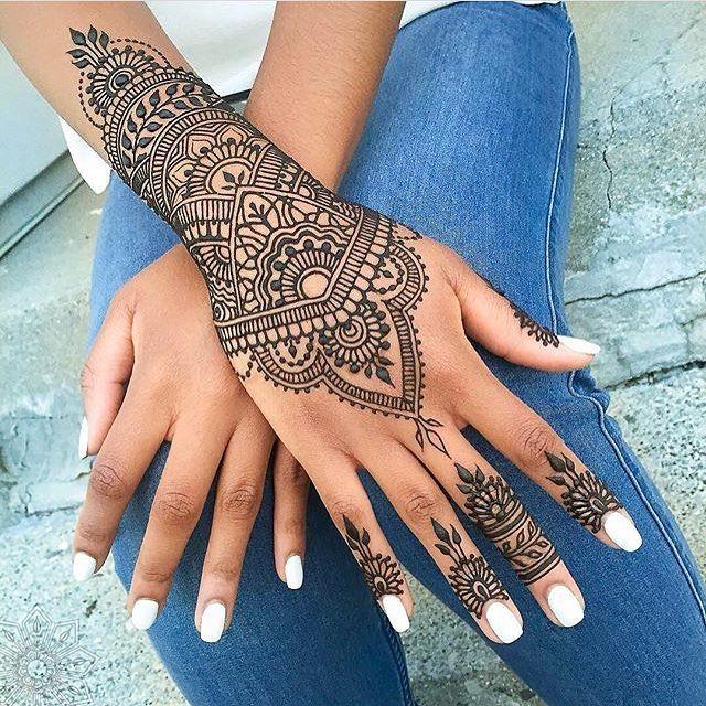 24 Henna Tattoos By Rachel Goldman You Must See: Guest Artist @bellahenna ____ Rachel Goldman From