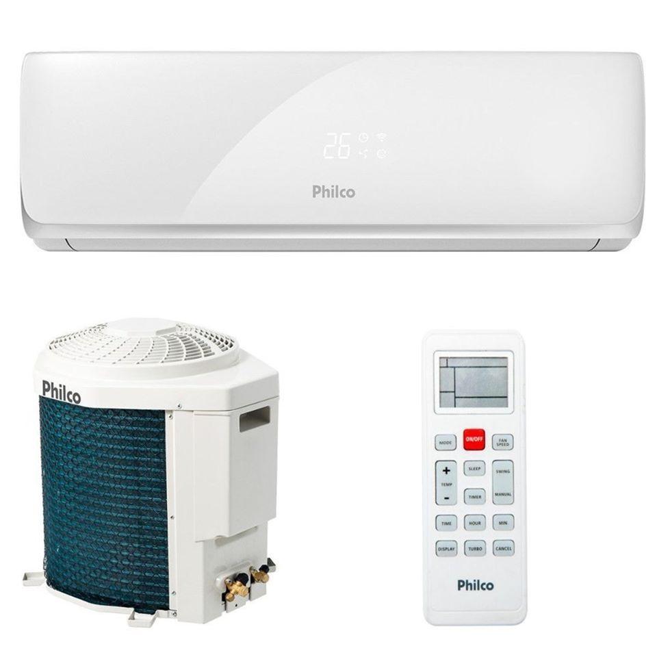 Ar Condicionado Split Inverter Philco 9 000 Btus Quente Frio 220v