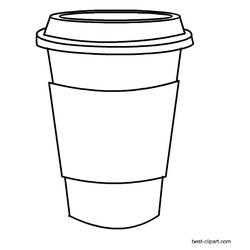Black And White Coffee Mug Clip Art Free Coffee Cup Drawing Coffee Cup Art White Coffee Mugs