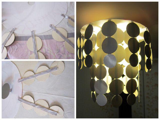 Zelf Dingen Maken : Zelf dingen maken zelfgemaakte lamp diy lamp lampen