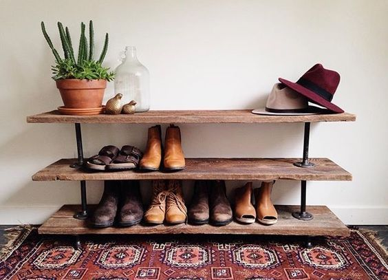 16 creative diy shoe rack made out of pallet cheap and on wood shoe rack diy simple id=20322