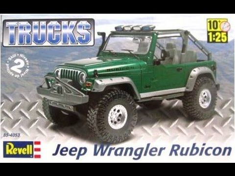 How To Build The Jeep Wrangler Rubicon 1 25 Scale Revell Model Kit