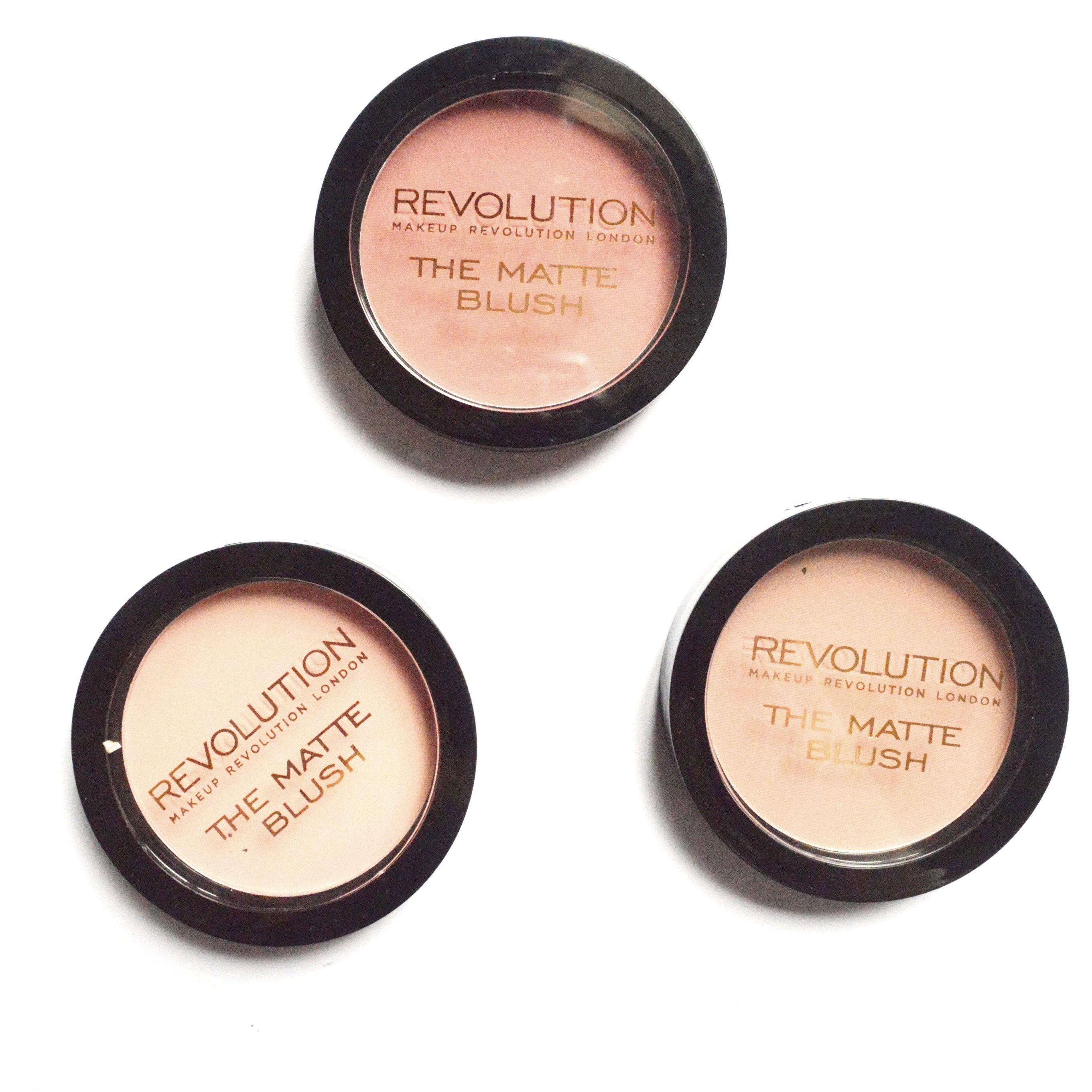 Makeup Revolution blush review Blonde Any Makeup