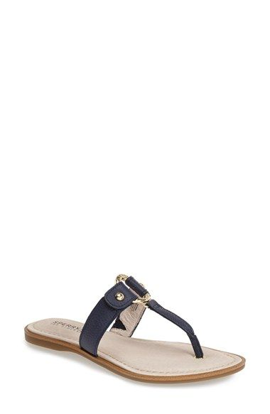 a62dd79a2 Sperry  Carolina  Leather Thong Sandal (Women) available at  Nordstrom