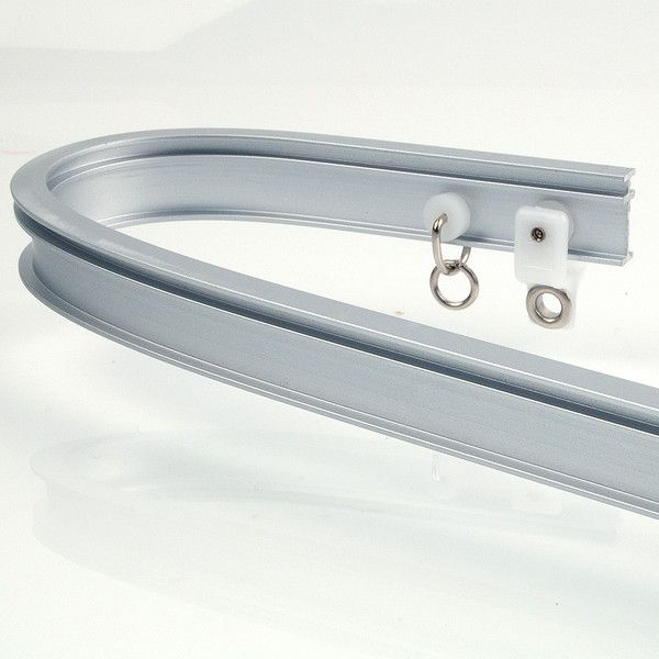 Recmar 4108 Bendable I Beam Curtain Track Aluminum 48 Curtain