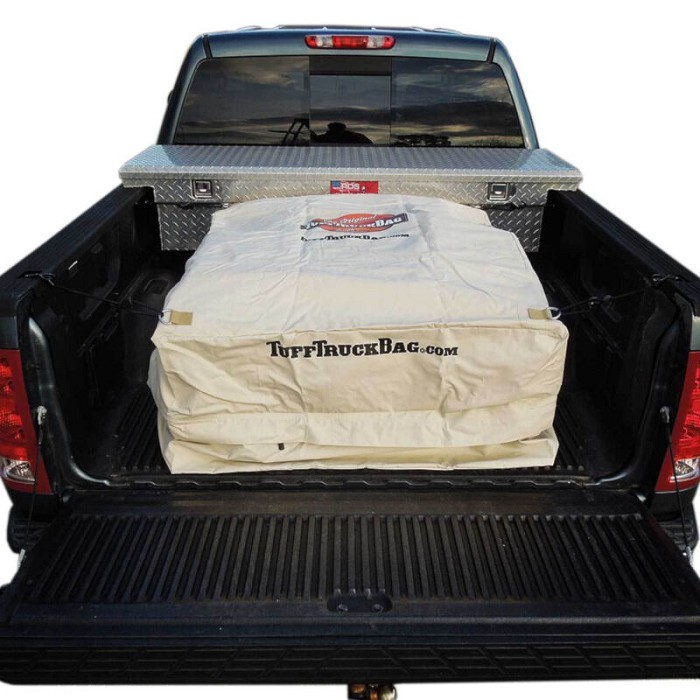F150 & Super Duty Tuff Truck Cargo Bag Bed Storage Khaki