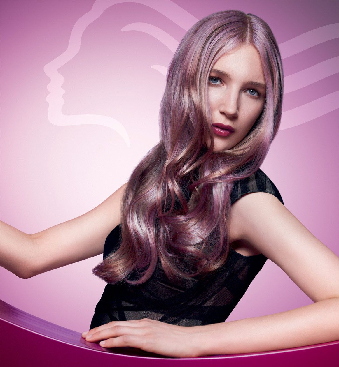 Lavender hair by wella hair pinterest lavender hair hair