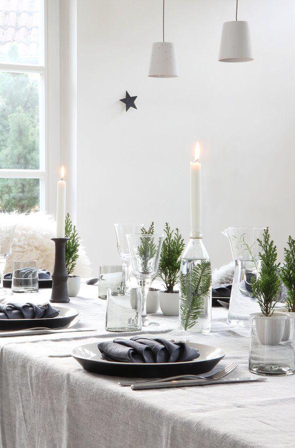 schnell schnell die tischdeko deko pinterest weihnachten tischdeko weihnachten und. Black Bedroom Furniture Sets. Home Design Ideas