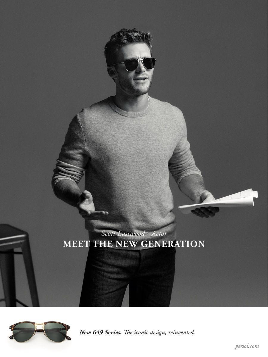 d8032a776e9 Scott Eastwood Stars in Persol s Spring Campaign