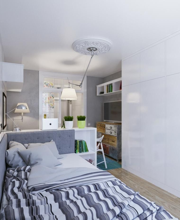 Verteilung und Design von Wohnungen für kleine Innenräume Haus