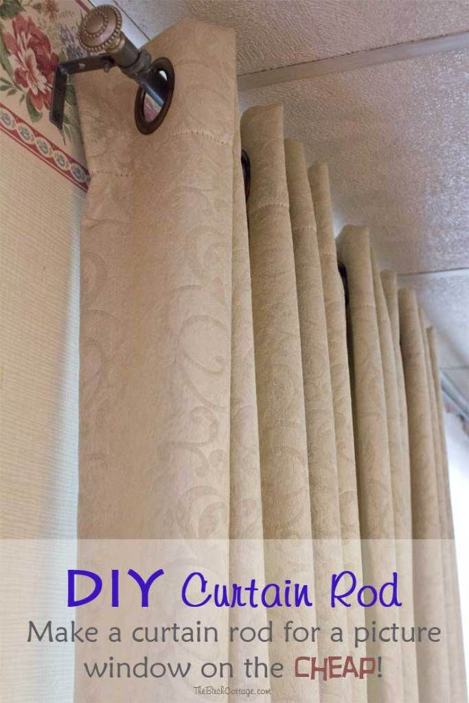 Our Front Door Gets A Fresh Coat Of Paint Diy Curtain Rods