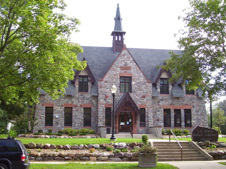 Beautiful Library Building In Lake Mills Wi