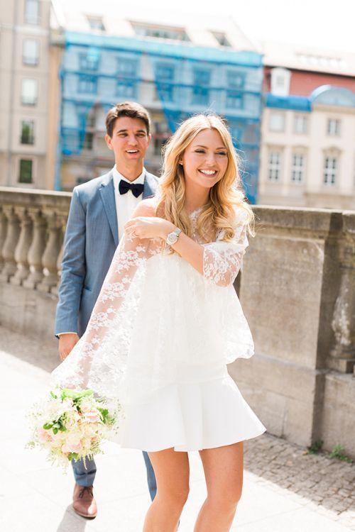Standesamt, was Kostüm soll ich tragen? # Zivil Brautkleider Kostüm-Hochzeit ..., #brautstan...