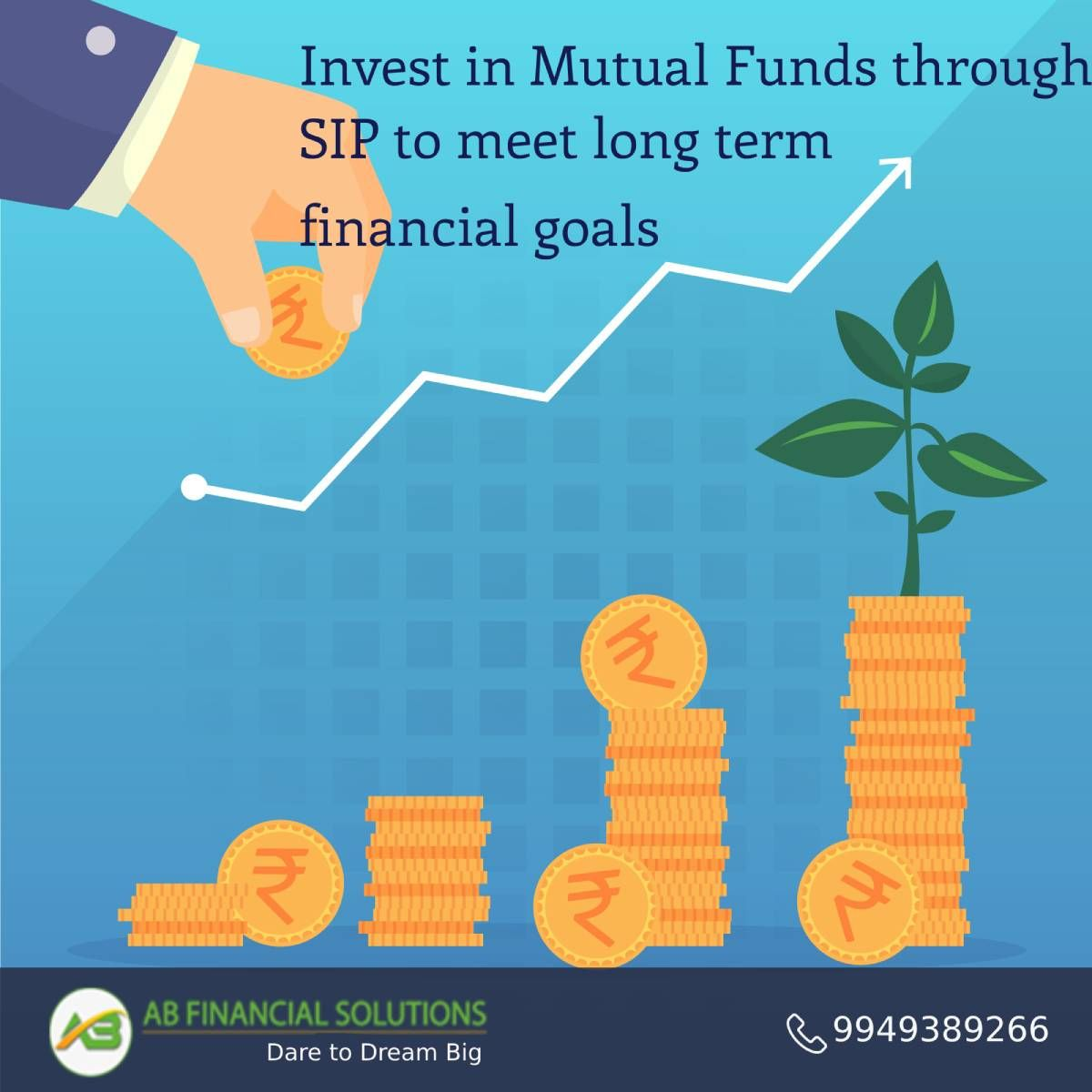 Invest In Mutual Funds Through Sip To Meet Long Term