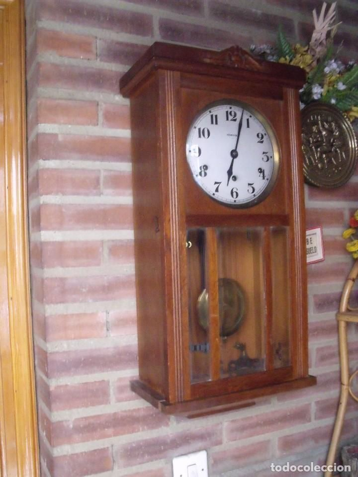 Gran Oferta Antiguo Carillon Wetsminster Vedette Francia Año 1920 Sonido Cada 1 4 Hora Relojes Pared Carga Manual Relojes De Pared Pared Ofertas
