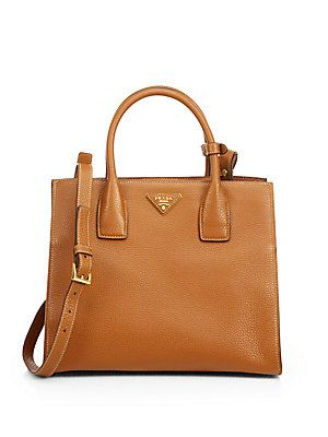 876fe63e77bf Prada Daino Twin Pocket Tote - loving this  classic