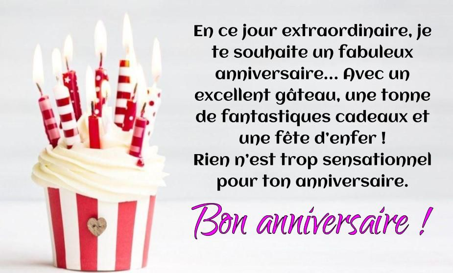 Image result for message anniversaire