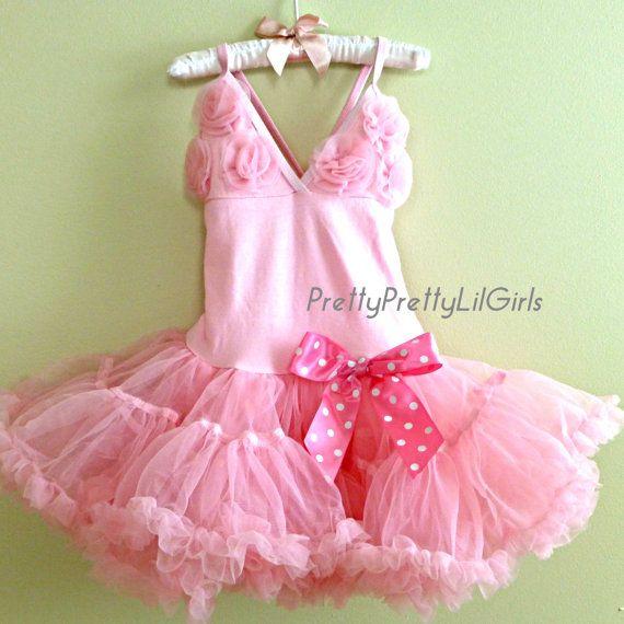 Girls Dress Baby Girl Dress Petti Dress by PrettyPrettyLilGirls, $36.99