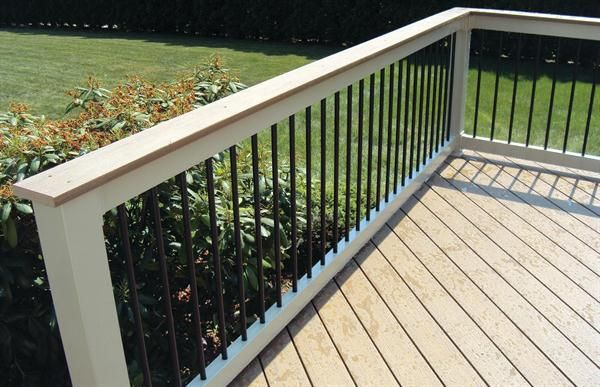 Best Black Metal Balusters Fade Into The Background And Are 400 x 300