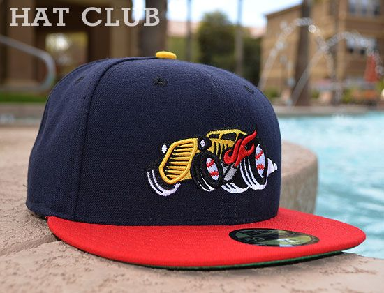 ccf1da1c730 The Bowling Green Hot Rods 59Fifty Fitted Cap by NEW ERA x MiLB   HAT CLUB
