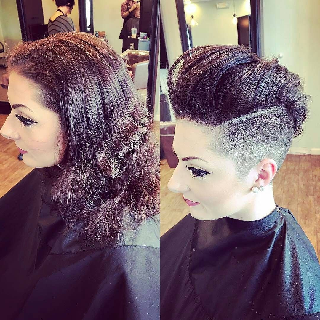 Pin by tbt on before and after ba pinterest pixies short