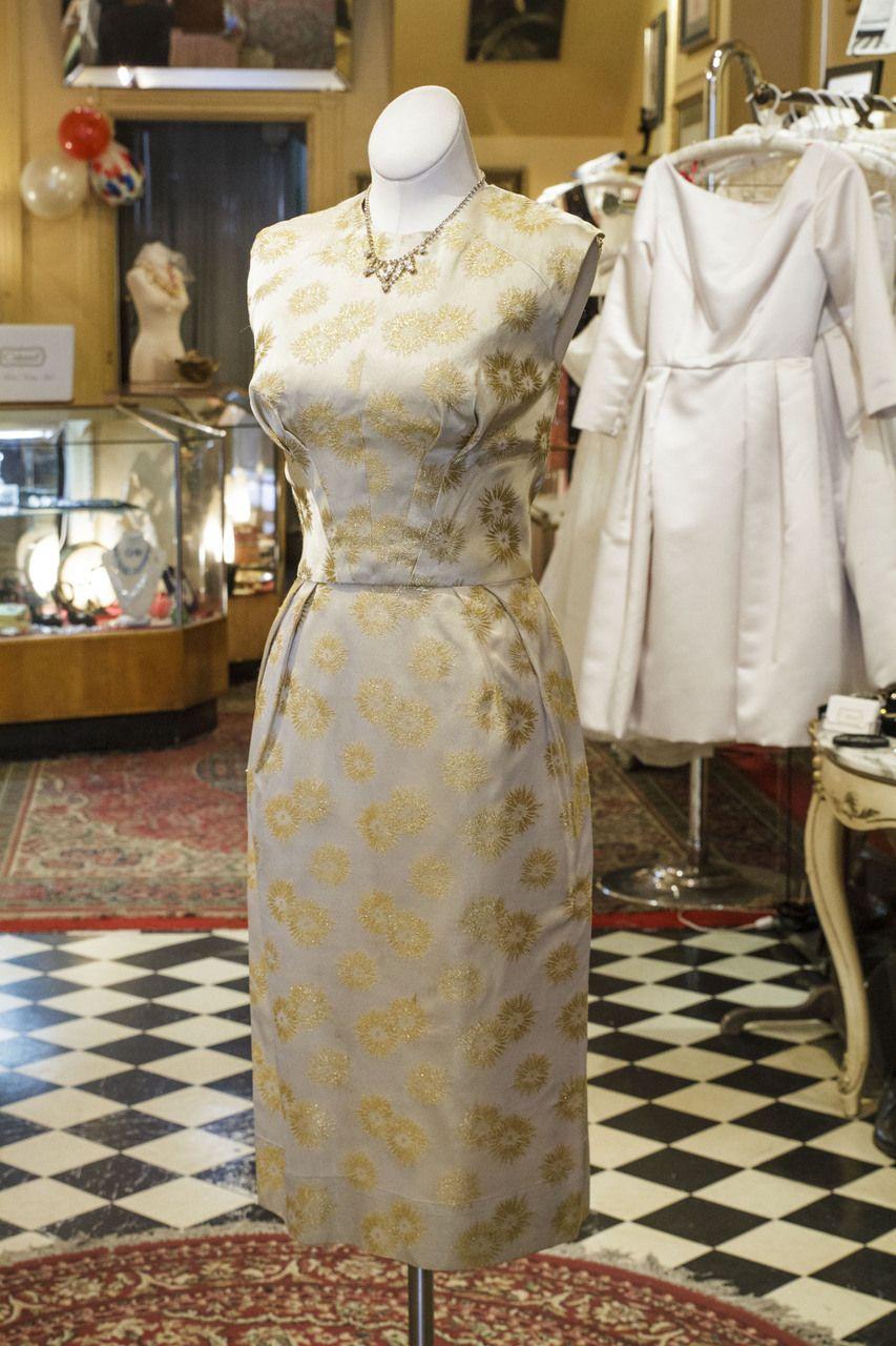 Cabaret Vintage - Vintage 1960's Gold Cocktail Dress, $165.00 (http://www.cabaretvintage.com/vintage-dresses/vintage-1960s-gold-cocktail-dress/) #vintagedress  #vintage #dressvintage #shopping #vintagestore #vintagefashion #ilovevintage #vintagelove #vintagegirl #vintageshopping #vintageclothing #vintagefinds #vintagelover #vintagelook #followme #dressoftheday #ootd  #instastyle #torontovintage #toronto #queenwest #cabaretvintage
