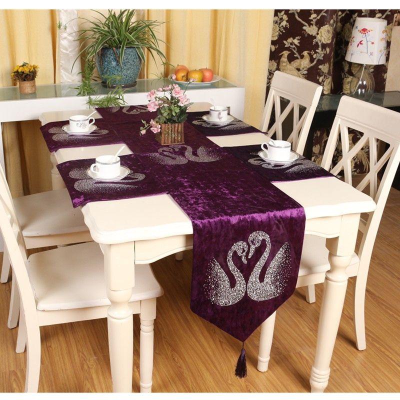 28++ Elegant dining table runners Trending